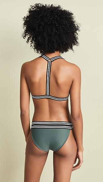 MIKOH Monterey Bikini Top