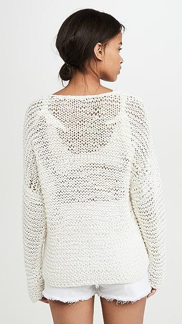 MIKOH Mehetia Long Sleeve Knit