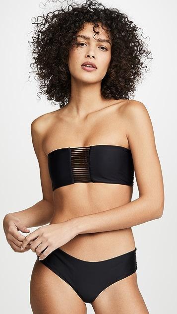 MIKOH Sunset Bandeau Bikini Top