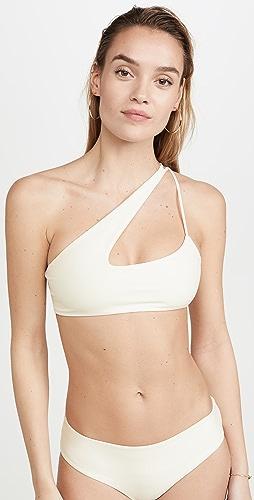 MIKOH - Queensland Cross Shoulder Bikini Top