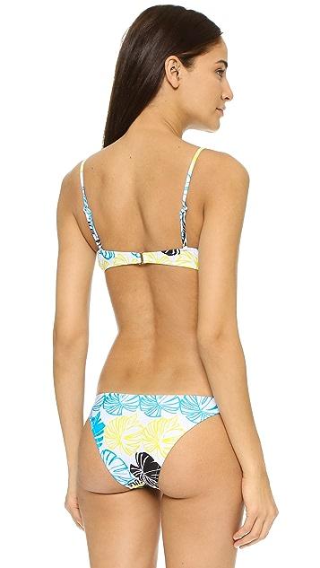 Milly Banana Leaf Maxine Underwire Bikini Top