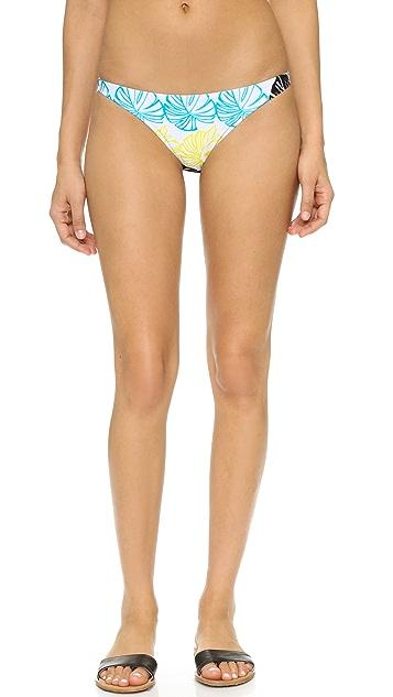 Milly Banana Leaf Mediterranean Bikini Bottoms
