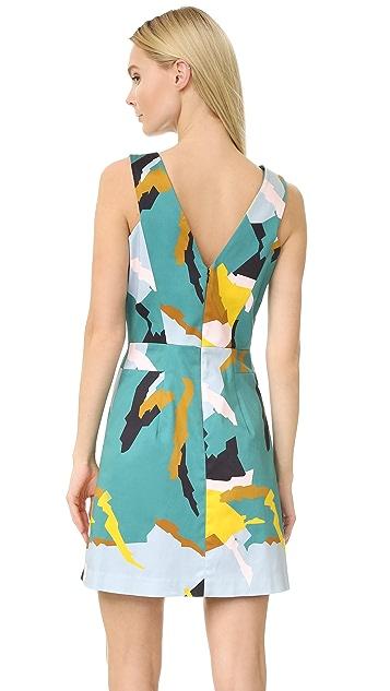 Milly Modern Camo Print Dress
