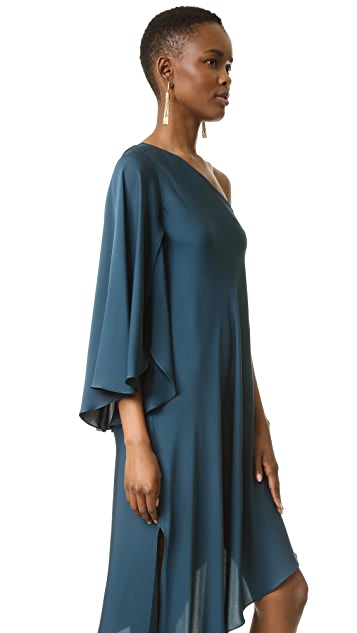 Milly One Shoulder Tori Dress