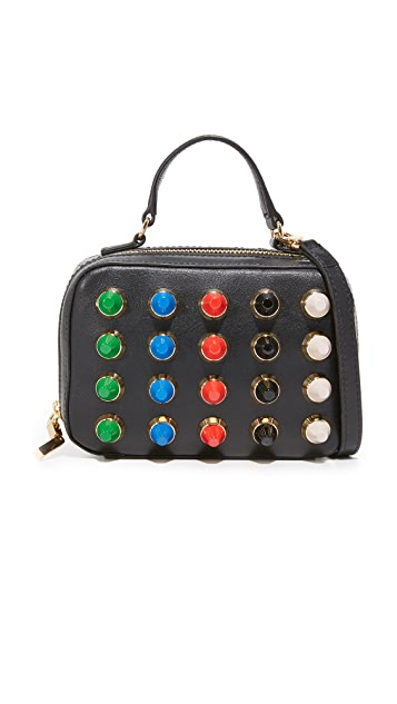 Milly Color Studs Mini Satchel
