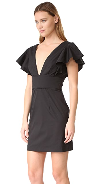 Milly Poplin Deni Dress