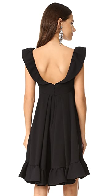 Milly Double Weave Cady Lindsey Dress