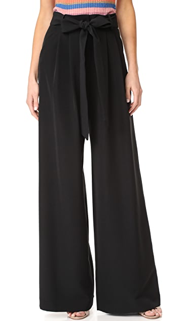 Milly Trapunto Trousers