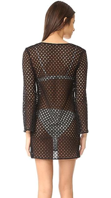 Milly Netting Mykonos Tunic Dress