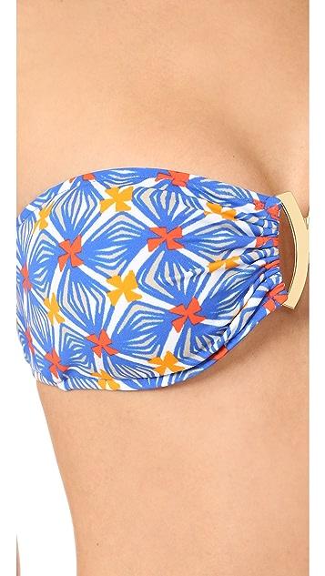 Milly Elba Bandeau Bikini Top