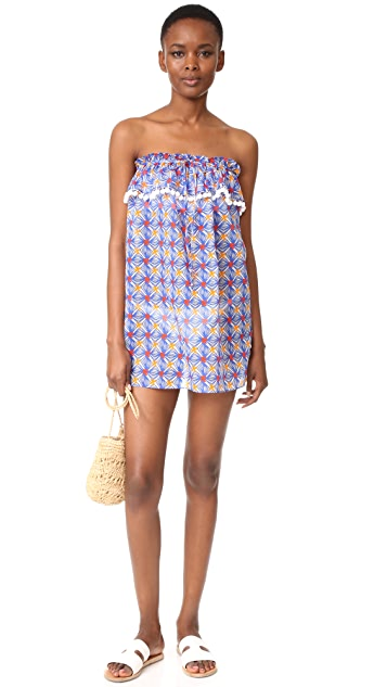 Milly Mosaic Print Cover Up Dress