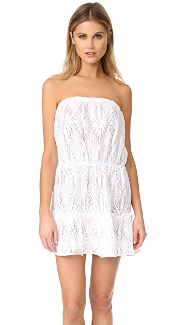 Milly Crochet Becca Cover Up