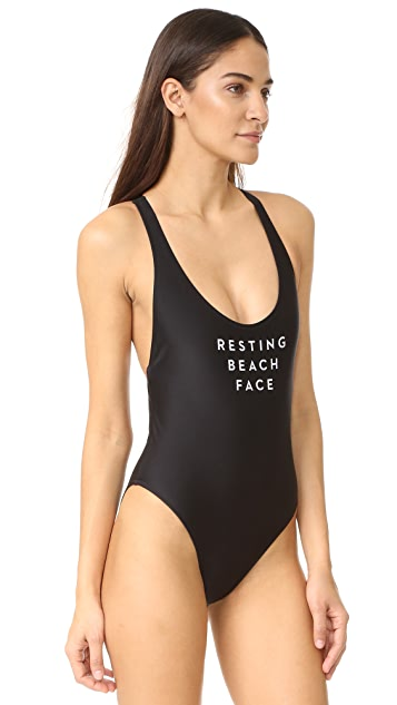 Milly Resting Beach Face Swimsuit