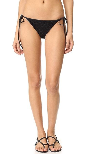 Milly Biarritz String Bikini Bottoms