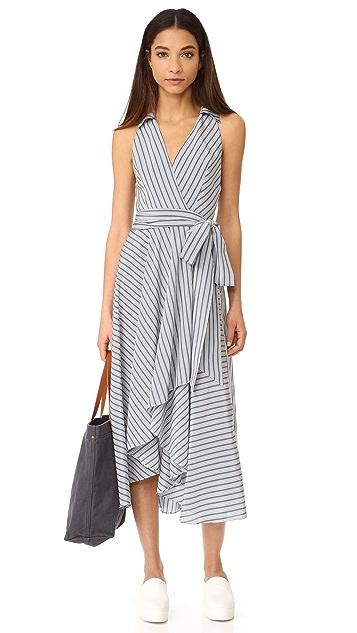 Milly Stripe Brooklyn Dress