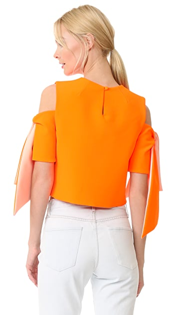 Milly Cropped Ansley Top