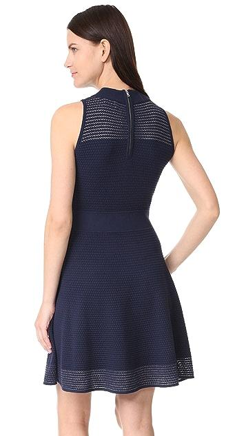 Milly Hexagon Stitch Dress