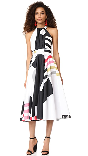 Milly Nautical Abstract Print Lizzy Dress Shopbop