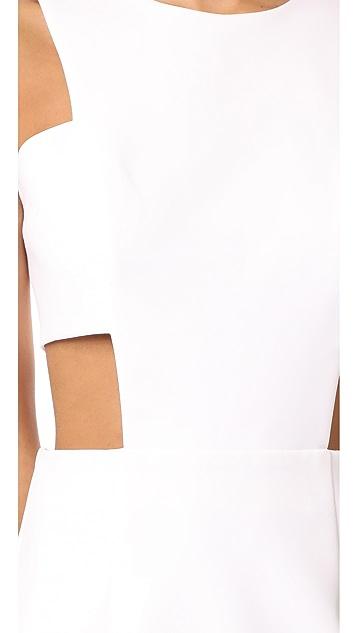 Milly Cutout Mini Dress