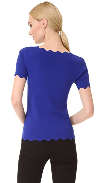 Milly Scallop Tee