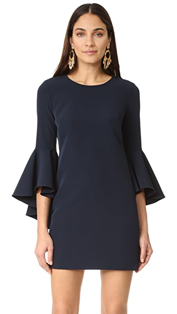 Milly Cady Bell Sleeve Dress