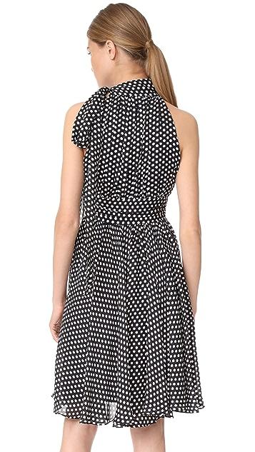Milly Dot Print Lydia Dress