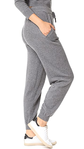 Milly Cashmere Sweatpants