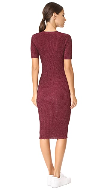 Milly Stardust Ribbed Dress