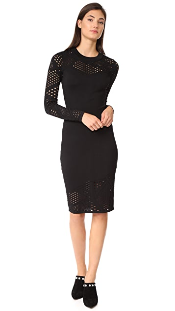 Milly Fractured Dress