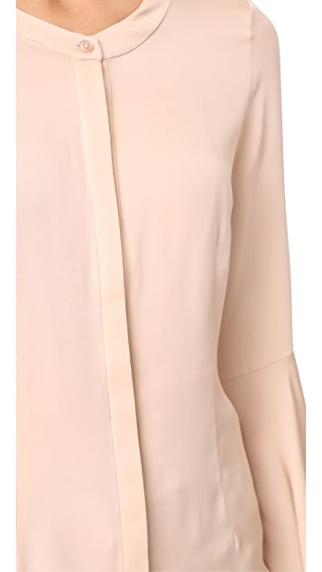 Milly Michelle Silk Blouse