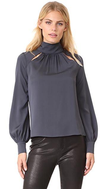 Milly Simona Silk Top
