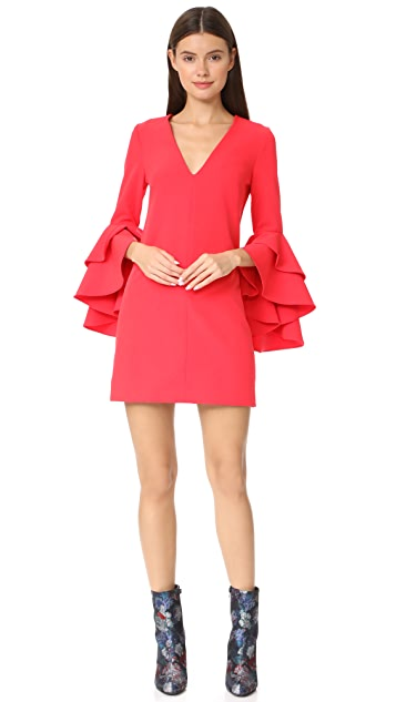 Milly Cady Ruffle Dress