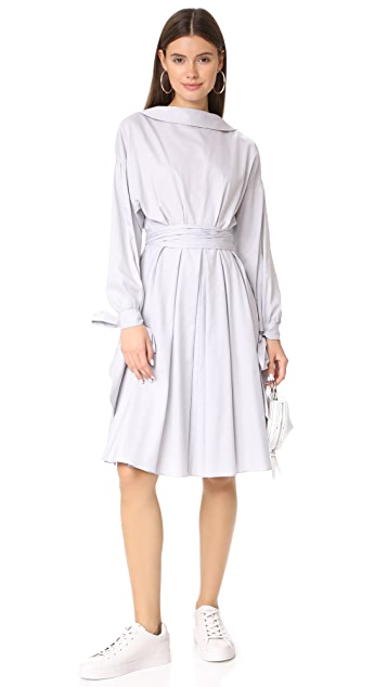 Milly Herringbone Abigale Shirtdress