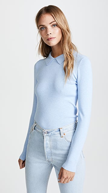 Milly Pointed Collar Pullover