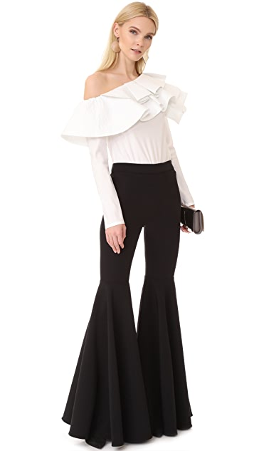 Milly Cady Flare Pants
