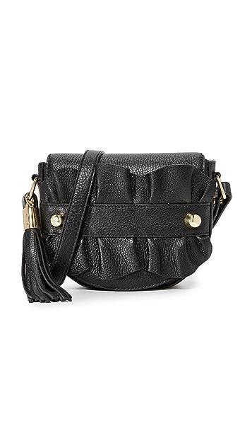 Milly Седельная сумка через плечо с оборками