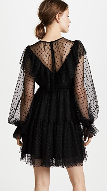 Milly Dot Tulle Victorian Dress