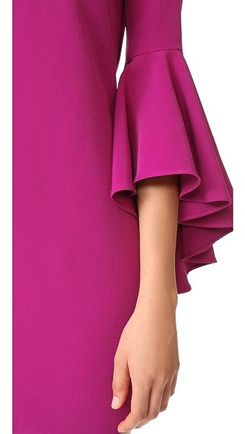 Milly Italian Cady Andrea Dress