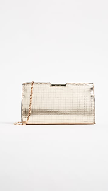 Milly Mosaic Frame Clutch
