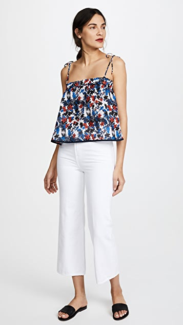Milly Silk Mika Top