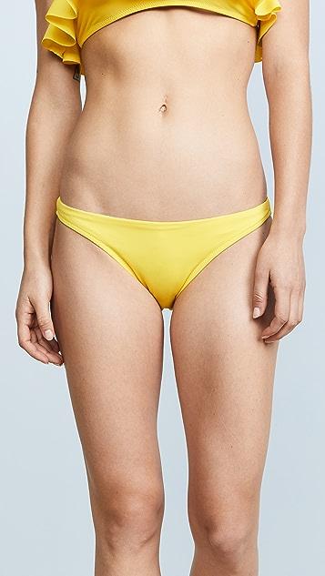 Milly Vita Solid St. Lucia Bikini Bottoms