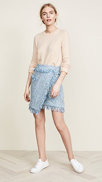 Milly Tweed Mini Skirt