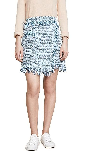 Milly Tweed Mini Skirt