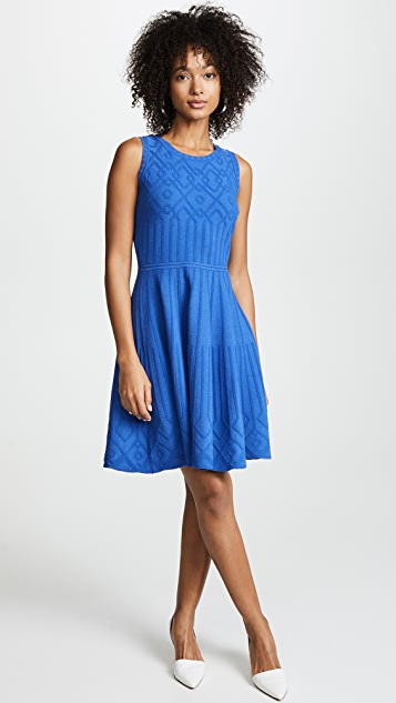 Milly Mosaic Flare Dress