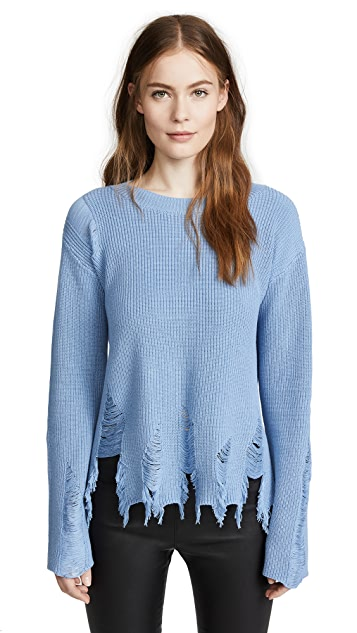 Milly Deconstructed Sweater