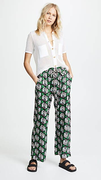 Milly Floral Pants