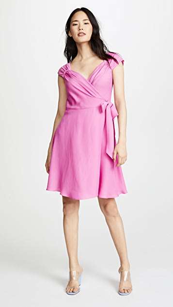 Milly Emma Wrap Dress