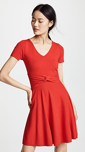 Milly Twist Flare Dress