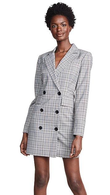 Milly Wool Blazer Dress