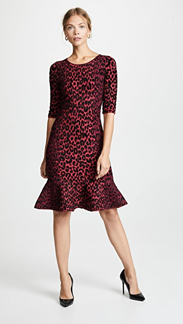 Milly Cheetah Mermaid Dress